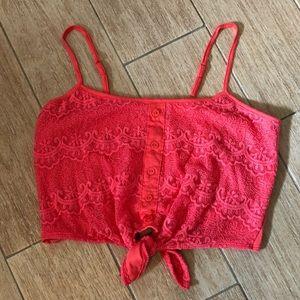Charlotte Russe Tops - Cute Crop Top